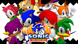 SONIC THE FIGHTERS