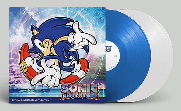 写真1:SONIC ADVENTURE OFFICIAL SOUNDTRACK VINYL EDITION(初回生産盤)