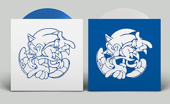 写真2:SONIC ADVENTURE OFFICIAL SOUNDTRACK VINYL EDITION(初回生産盤)