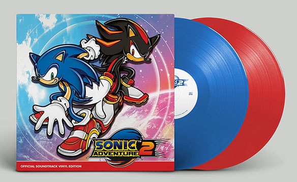写真5:SONIC ADVENTURE2 OFFICIAL SOUNDTRACK VINYL EDITION(初回生産盤)