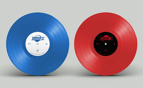写真7:SONIC ADVENTURE2 OFFICIAL SOUNDTRACK VINYL EDITION(初回生産盤)