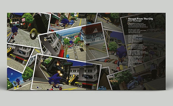 写真8:SONIC ADVENTURE2 OFFICIAL SOUNDTRACK VINYL EDITION(初回生産盤)