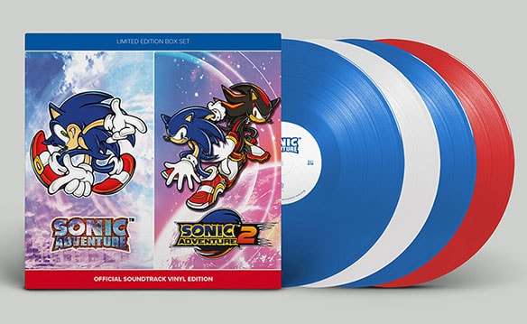 写真5:SONIC ADVENTURE & SONIC ADVENTURE 2 OFFICIAL SOUNDTRACK SIGNED LIMITED EDITION
