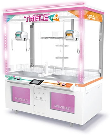 筐体:UFO CATCHER TRIPLE TWIN