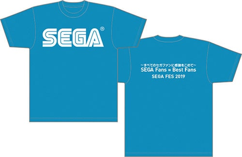 SEGA Fan Meet-Up 2019記念Tシャツ