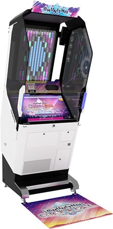 CHUNITHM CRYSTAL PLUS 筐体